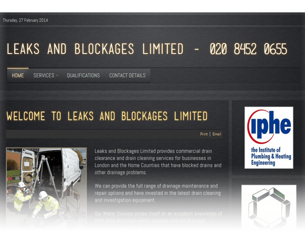 Leaks and Blockages Ltd