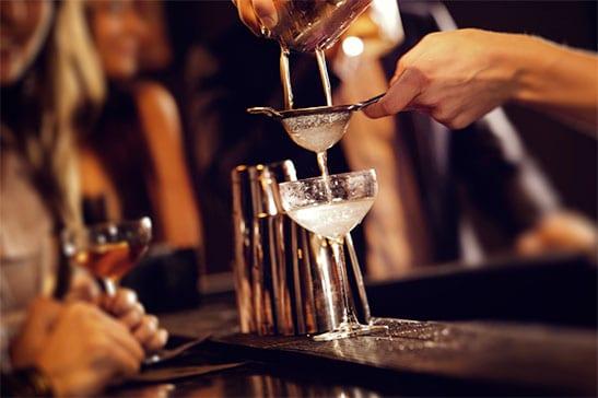 Light Cocktail Drinks